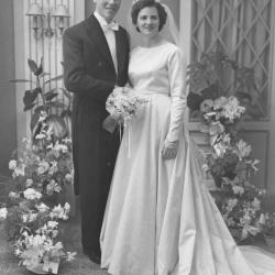 Huwelijksfoto Marie-Jeanne Gillet