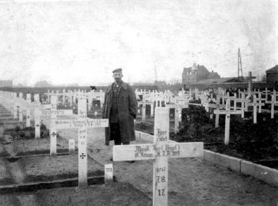 Duitse militaire begraafplaats, Izegem