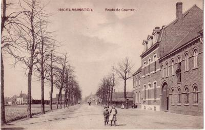 Kortrijkstraat, Ingelmunster, ca 1905