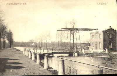 Lysbrug, Ingelmunster, ca 1905