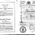 Trouwboekje van Octave Beernaert en Marie Herman, Elsene 20 september 1919
