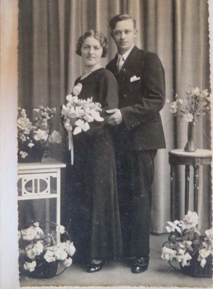 Huwelijk Rachel Lievens en Maurits Casteleyn, Gits