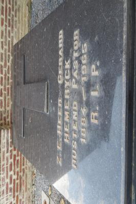 Graf van E.H. Gerard Hemeryck, Hooglede