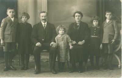 Gezin met 5 kinderen