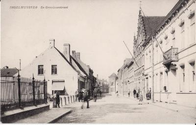 Gravinnestraat, Ingelmunster, ca 1940