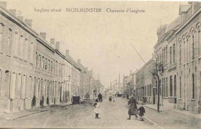 Izegemstraat, Ingelmunster, ca 1905