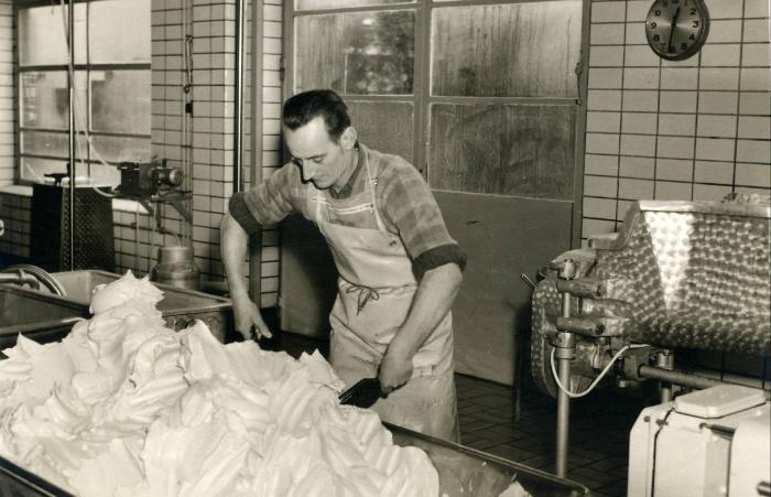 Boterproductie in zuivelbedrijf Eurolac (1966-1985), Moorslede