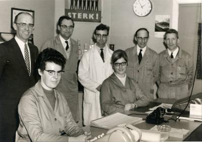 De bedienden van zuivelbedrijf De Toekomst (1948-1966), Moorslede