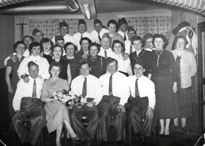 Kaartersclub, Gits, 1956