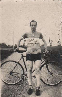 Wielrenner Roger Lagae, Gits, 1942