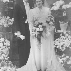 Huwelijksfoto Raphaël Herman en Denise Persijn