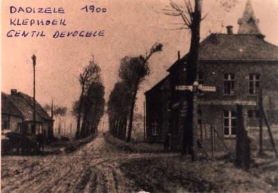Klephoek Dadizele omstreeks 1900