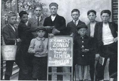 'Vlaamsche zonen verdreven naar de Kempen', Balen 24 (?) september 1917