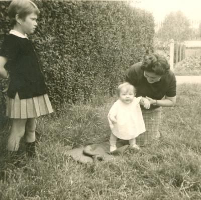 Leren lopen, Gits, 1966