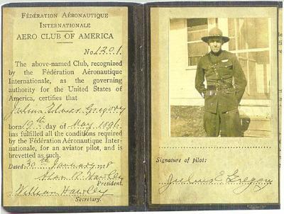 Lt. Julius Gregory, ontgraven in Dadizele 23 februari 1920