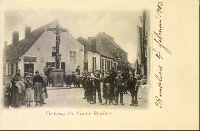 Kruis hoek van Ieperstraat en Molenstraat, Roeselare