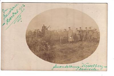 Duits geschut op Kezelberg, Dadizele 1917