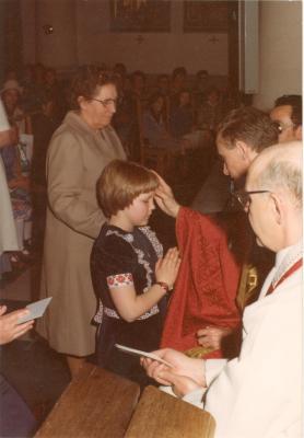 Plechtige Communie te Gits op 19 mei 1977