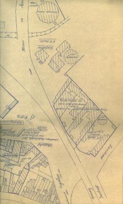 Plan, Roeselare, 1940