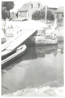 Wantebrug, Ingelmunster, 25 Mei 1940