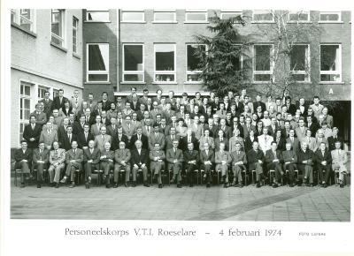 Personeelskorps VTI, Roeselare, 4 februari 1974