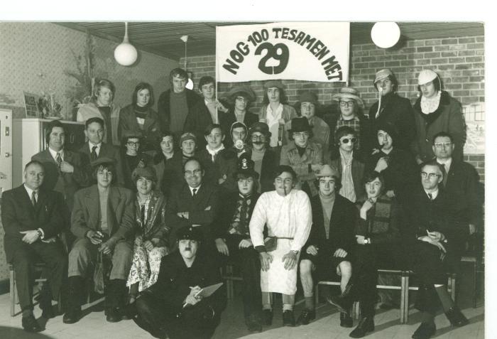 100 dagenviering 3HSTM, Roeselare, januari 1974