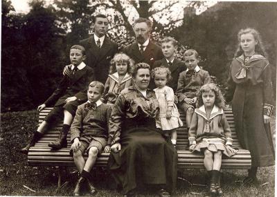 Familie Achiel Lybeer