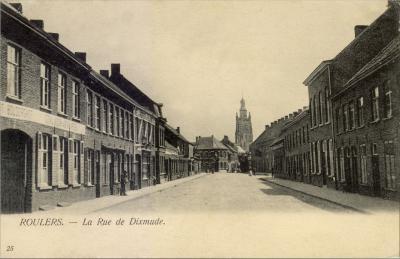 Diksmuidsesteenweg, Roeselare