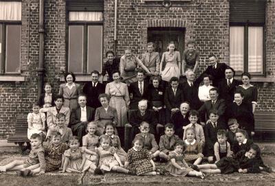 Familie Talpe, Roeselare, jaren '40 (?)