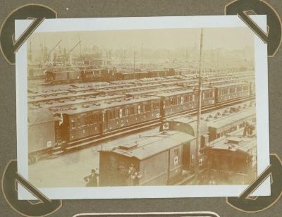 Rode Kruistrein in station Antwerpen-Zuid 15 september 1914