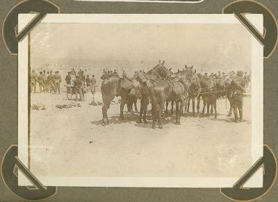 Militairen baden, De Panne 3 september 1915
