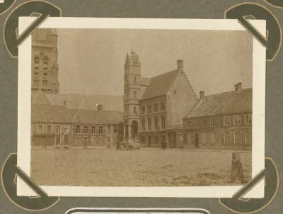 Grote markt Poperinge 1915
