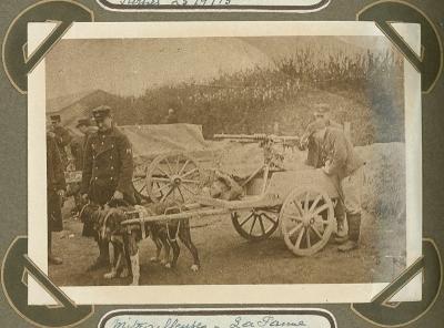 Mitrailleurs, De Panne 21 september 1915
