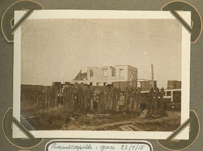 Station Ramskapelle, 22 september 1915