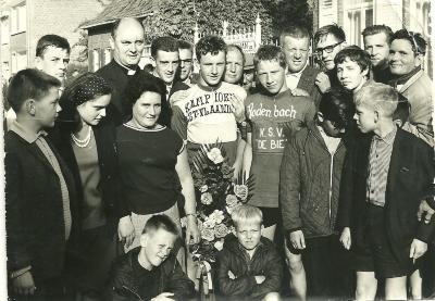 Oswald Declerq, Gits, 1958-1961