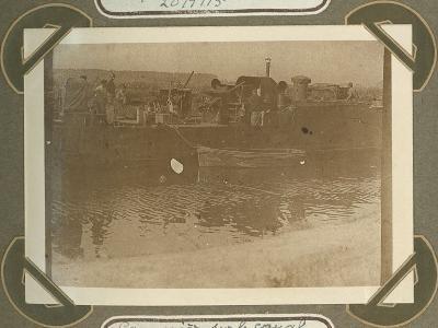 Kanonneerboot op kanaal 20 september 1915