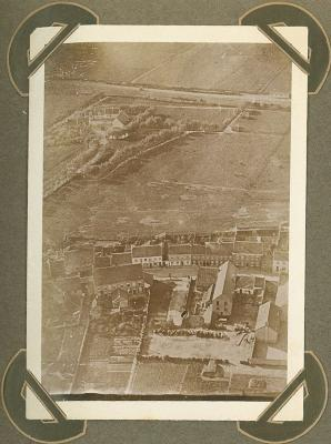 Luchtfoto Adinkerke 25 september 1915