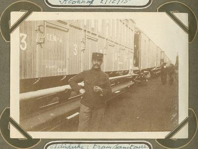 Rode Kruistrein, Adinkerke 2 oktober 1915