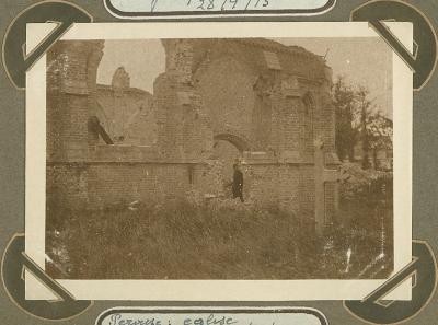Kerk Pervijze 28 september 1915