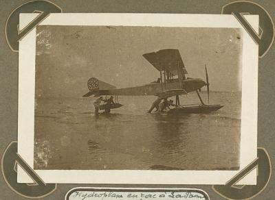 Watervliegtuig gestrand, De Panne 2 oktober 1915