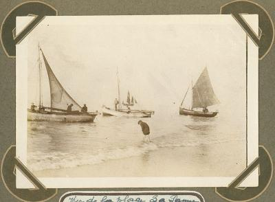 Strand, De Panne 2 oktober 1915