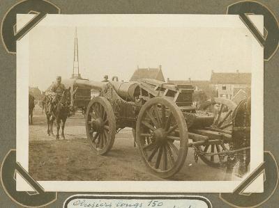 Houwitsers, 16 oktober 1915