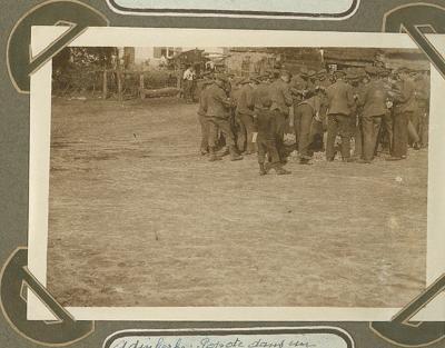 Kokkerellen in kwartier, Adinkerke 10 november 1915