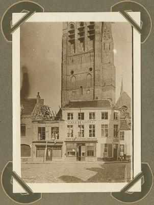 Grote Markt, Veurne 2 oktober 1915