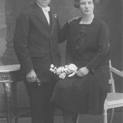 Huwelijksfoto Remi Vervaeke en Julia Rosselle