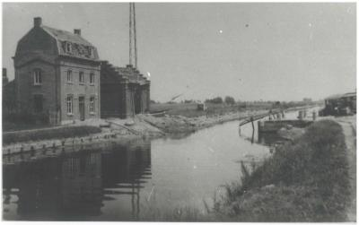 Ijzerwegbrug, Ingelmunster, ca 1940
