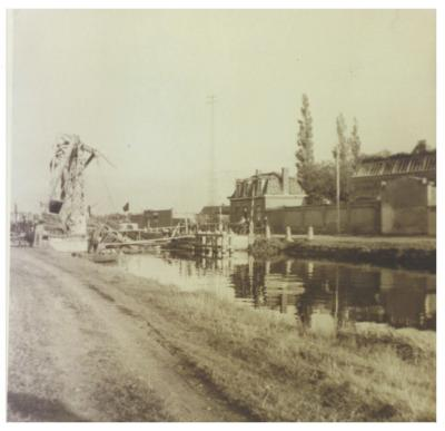 De Lysbrug, Ingelmunster, ca 1944