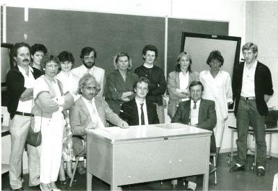 Info-avond PMS over revalidatie, Lichtervelde, 8 mei 1987
