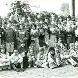Kinderen in schooltuin, Lichtervelde