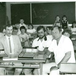 Computer in klas 6de leerjaar, Lichtervelde, 6 juni 1986